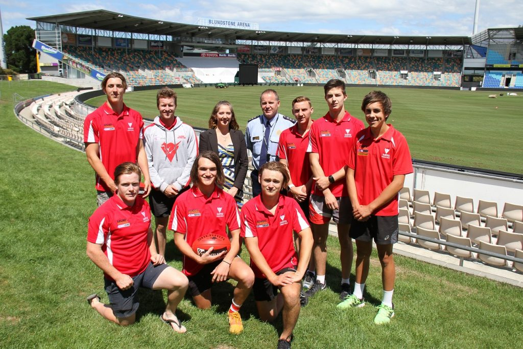 Guys Gotta Know Launch at Blundstone Arena