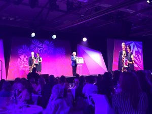 Susan Fahey, Tasmanian winner in the For Purpose and Social Enterprise category of the 2015 Telstra Business Women's Awards.
