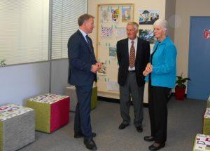 Burnie Office Launch - Premier Will Hodgman & Keith & Jantze Fahey