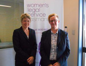Burnie Office Launch - Dr Vanessa Goodwin & Susan Fahey